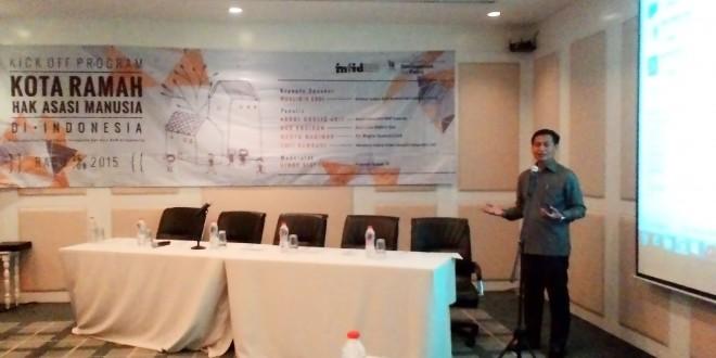 Indonesia harus menjadi Kota Ramah HAM