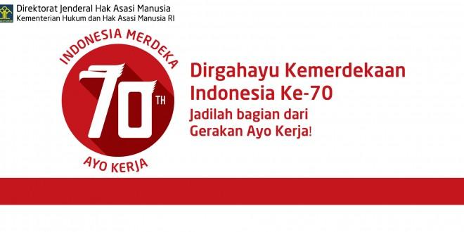 HUT Kemerdekaan Republik Indonesia Ke-70