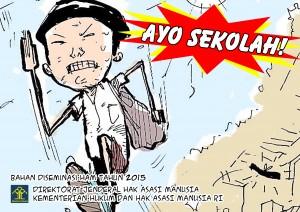 Book Cover: Komik HAM: Ayoo Sekolah!