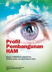 Book Cover: Profil Pembangunan HAM 2015
