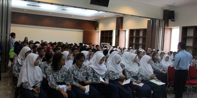 Ratusan Pelajar SMPN 1 Kota Bogor Belajar HAM