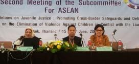 Pertemuan Kedua ASEAN Asean Pasific Council on Juvenile Justice (APCJJ) di Bangkok