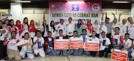 Perwakilan Jawa Barat Juara LCC HAM Tahun 2016
