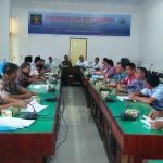 Ibnu Chuldun, Bc.Ip.,S.H.,M.Si., selaku Kepala Kantor Wilayah Kementerian Hukum dan HAM Sumatera Utara yang memaparkan materi mengenai Pelaksanaan RANHAM di Daerah