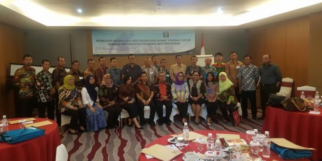 Workshop Menentang Penyiksaan Bagi Aparat Penegak Hukum Sebagai Implementasi Konvensi Anti Penyiksaan