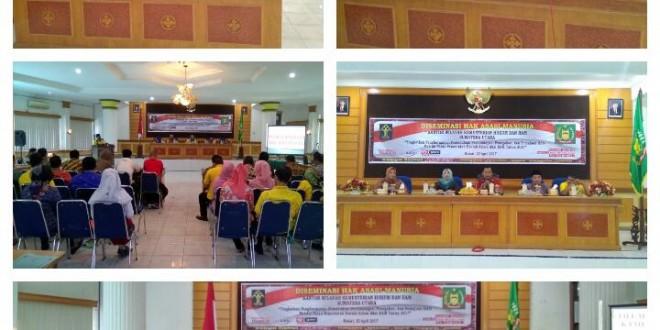 Diseminasi Hak Asasi Manusia di Kabupaten Langkat Provinsi Sumatera Utara