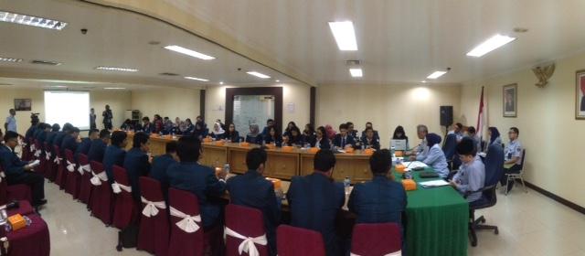 Audiensi Nasional BEM FH Universitas Diponegoro dan Ditjen HAM