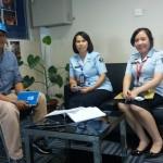 Kunjungan ke UNHCR