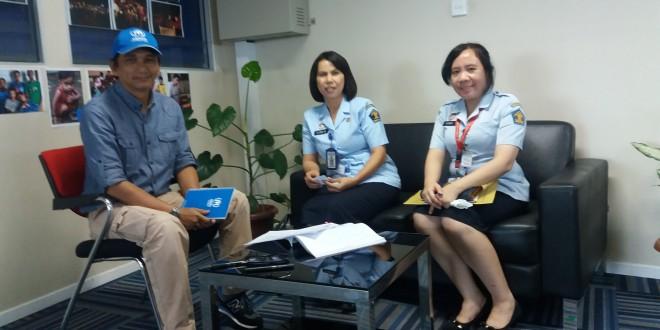 Koordinasi dengan UNHCR dalam rangka Perlindungan HAM Khususnya Hak Atas Rasa Aman
