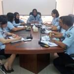 Rapat penelaahan yankomas 8 mei
