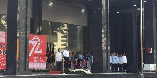 Kementerian Hukum dan HAM Gelar Upacara Pembukaan Bulan Semarak Kemerdekaan RI