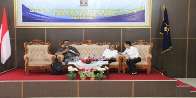 "DISEMINASI HAM Kota Ambon, Kakanwil : ""Semua Pihak Harus Menegakkan HAM"""
