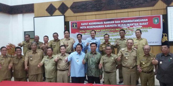 Kerja Bersama dalam Mengimplementasikan HAM di Provinsi Kalbar