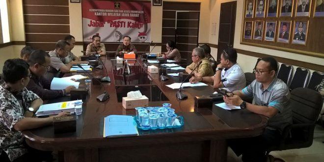 Koordinasi Penanganan Dugaan Pelanggaran HAM yang Dikomunikasikan di Provinsi Jawa Barat