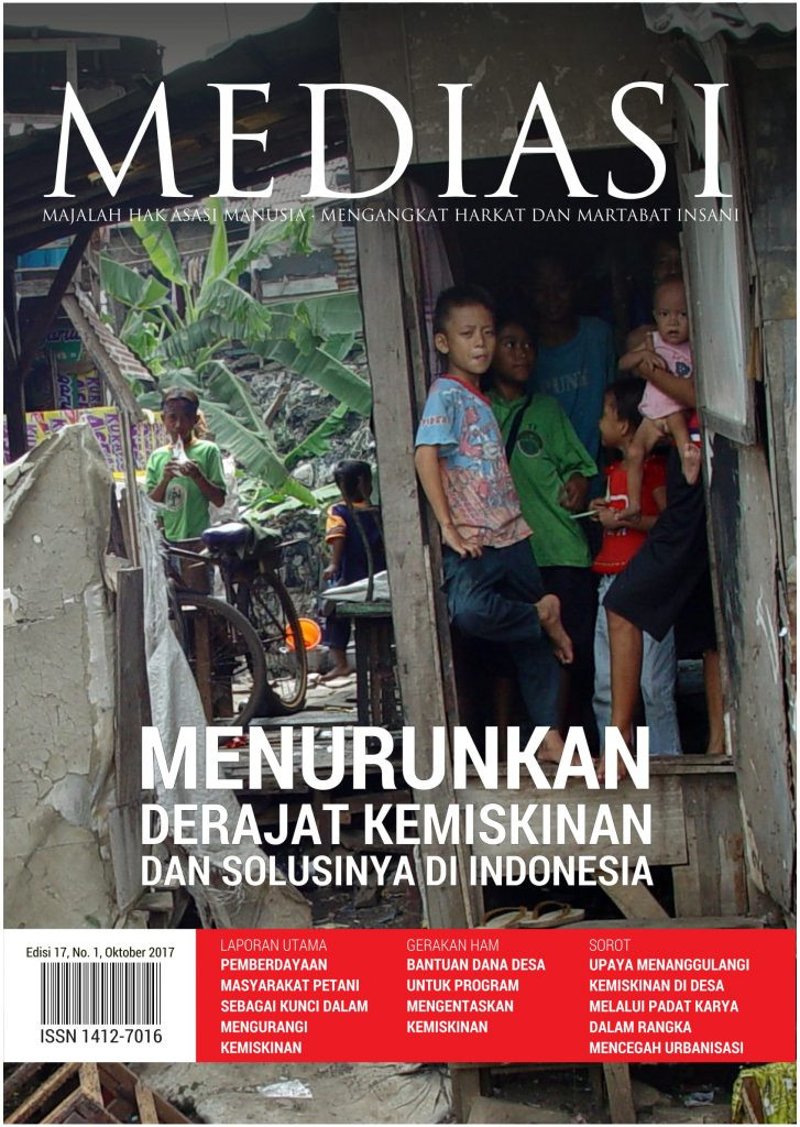Book Cover: Edisi 17 No.1