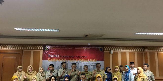 Kanwil DKI Laksanakan Rapat Koordinasi Peduli HAM di Walikota Jakarta Selatan