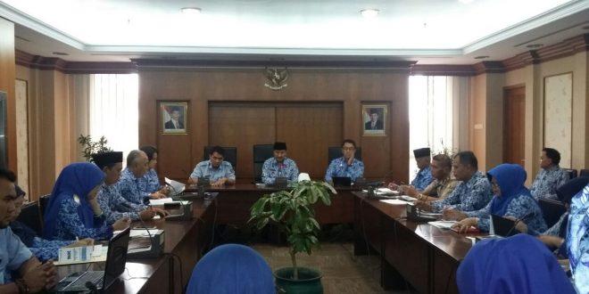 Rapat Penilaian Kota Peduli HAM Walikota Jakarta Barat