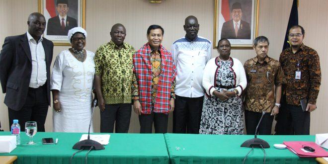 Dirjen HAM Terima Delegasi Kenya