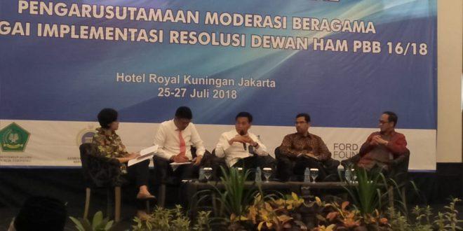 Dirjen HAM : Mengelola Keberagaman di Indonesia adalah Tantangan