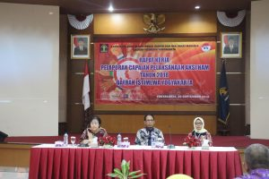 Rapat Kerja Pelaporan Capaian Pelaksanaan Aksi HAM