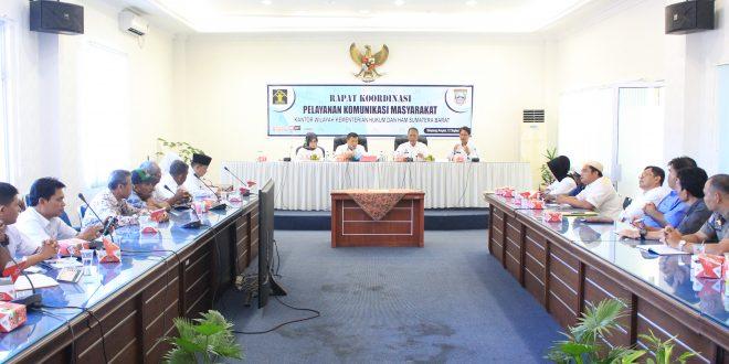 Rapat Koordinasi Dugaan Pelanggaran HAM yang dikomunikasikan di Pasaman Barat