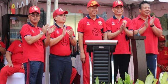 Pembukaan Kompetisi Olah Raga dalam rangka memperingati hari Dharma Karya Dhika (HDKD)