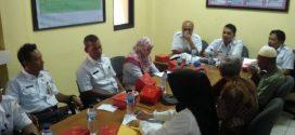 Rapat Koordinasi Pelayanan Komunikasi Masyarakat di Pulau Untung Jawa
