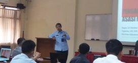 Direktur Informasi HAM Berikan Materi di Satinduk BAIS TNI
