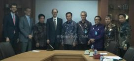 Ditjen HAM menerima kunjungan perkenalan dan diskusi terkait Hak Asasi Manusia Indonesia-Swiss