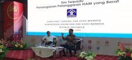 Menkumham Pimpin Rakor Lintas Terkait tentang Pelanggaran HAM Berat