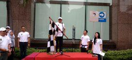 Kemeriahan Fun Walk Peringatan Hari HAM Sedunia ke-70