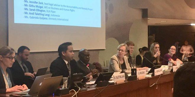 Ditjen HAM Kirim Delegasi dalam 7th Annual Forum on Business and Human Rights di Jenewa
