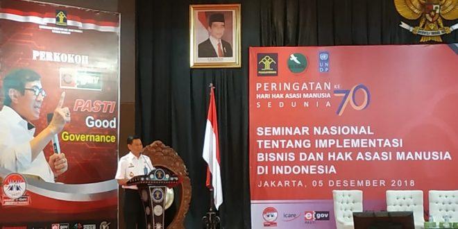 Peringati Hari HAM Sedunia ke-70, Direktorat Jenderal HAM Gelar Seminar Nasional Implementasi Bisnis & HAM di Indonesia