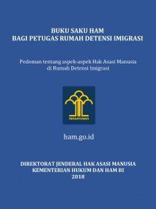 Book Cover: Buku Saku HAM Bagi Petugas Rumah Detensi Imigrasi