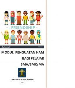 Book Cover: Modul Pendidikan HAM Bagi Siswa SMA